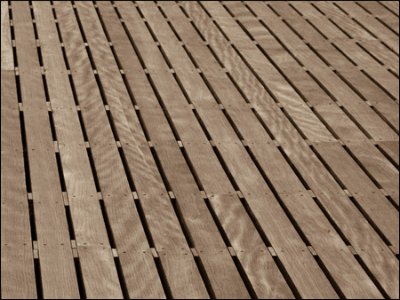 wood deck, composite deck